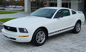 Performance White 2005 Mustang V6 - The Mustang Source