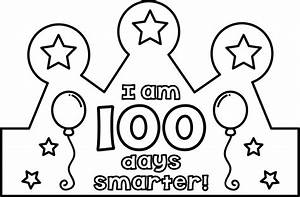 i am 100 days smarter crown teacherplanetcom With 100th day hat template
