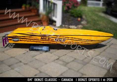 Rc Gas Boat Accessories by 84 In Classic Bonzi Sports Rc Gas Boats And Accessories