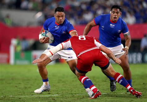 Disciplinary update: Motu Matu'u (Samoa) | Rugby World Cup