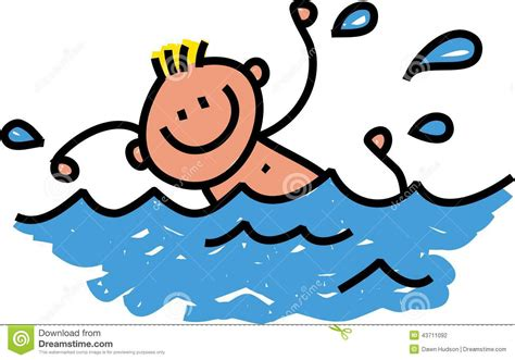 foto de Kids Swimming Animated Free download on ClipArtMag