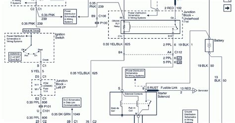 Chevrolet Electrical Diagram by 2002 Chevrolet Chevy Impala Wiring Diagrams Schematic