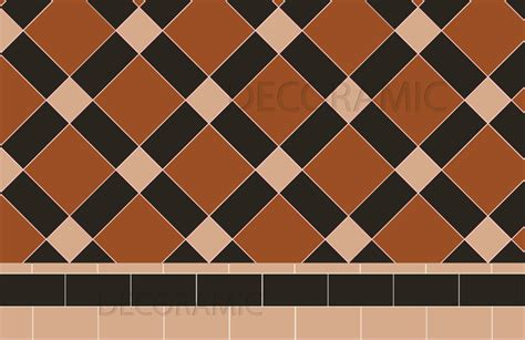 edinburgh  simple bespoke border border olde victorian floor tile designs