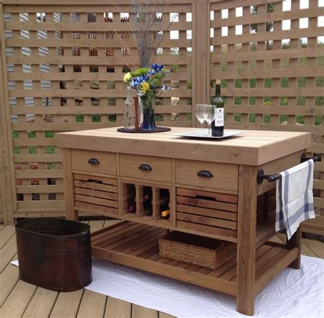 how to build a movable kitchen island 25 best ideas about outdoor island on outdoor