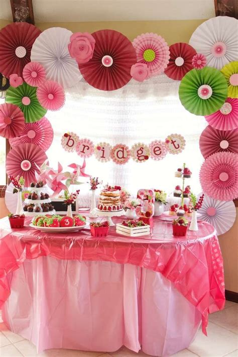 strawberry ideas 237 best strawberry party ideas images on pinterest girl birthday birthday party ideas and