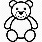 Teddy Bear Toy Stuffed Animal Soft Icon