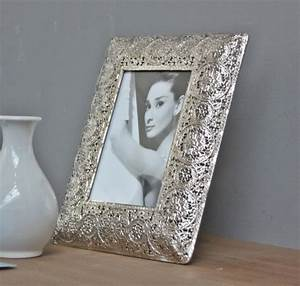 Bilderrahmen Antik Silber : bilderrahmen silber metall klein ~ Frokenaadalensverden.com Haus und Dekorationen