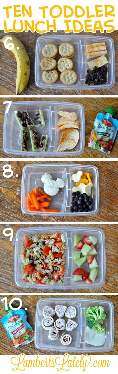 ten and easy toddler lunch ideas lamberts lately 882 | toddler lunch ideas 2