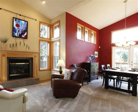 Red And Beige Living Room Ideas : 7 Paint Colors That Go Well With Red