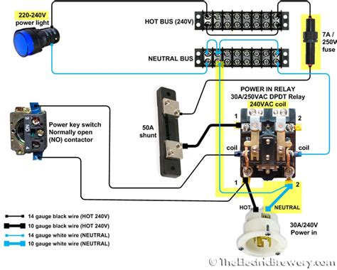 Spa Dpdt Relay Wiring Diagram by Wiring Diagram For 240v Outlet Apktodownload