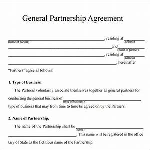 16 partnership agreement templates sample templates for Corporate partnership agreement template
