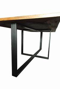 Pied De Table : pied metal pas cher ~ Teatrodelosmanantiales.com Idées de Décoration