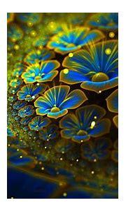 radiant flowers | Fractal art, Wallpaper nature flowers ...