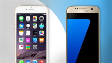 iphone or samsung migliori smartphone samsung galaxy s7 vs apple iphone 6s