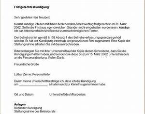 Resturlaub Berechnen : fristgerechte k ndigung eines arbeitsvertrages office ~ Themetempest.com Abrechnung