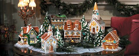 complete christmas village  sale festival collections