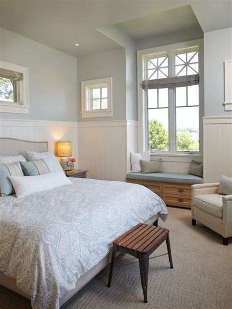 light blue and white bedroom sherwin williams topsail interiors by color 19030 | Sherwin Williams Topsail Light blue and white bedroom color scheme