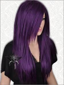 Dark Purple Hair Black Women