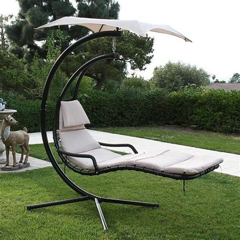 Canopy Hammock by Hanging Helicopter Lounger Chair Arc Stand Swing