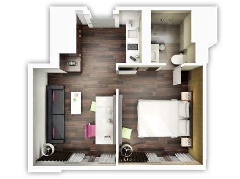 ag e chambre le plan appartement d 39 un studio 50 idées originales