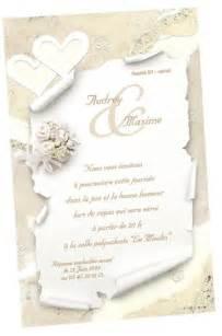 carte d invitation mariage carte d 39 invitation mariage régalb modèle k644 avec impression articles de fête