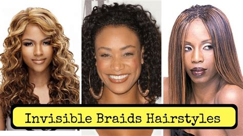 Invisible Braids Hairstyles On Natural Hair (2018)