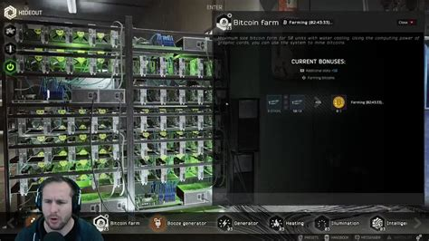 In this video, we break down all the changes surrounding bitcoin, the bitcoin farm, and the hideout that has happened recently in escape from tarkov. Bitcoin Farm Tarkov - TRADING