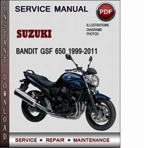 Suzuki Bandit Gsf 650 1999-2011 Factory Service Repair Manual Download Pdf