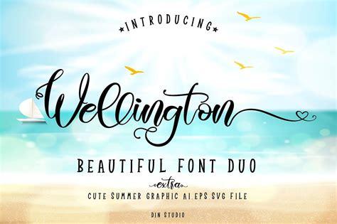 Wellington Script Font - All Free Fonts
