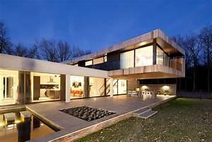 Moderne Design Villa : modern villa in heesch the netherlands ~ Sanjose-hotels-ca.com Haus und Dekorationen