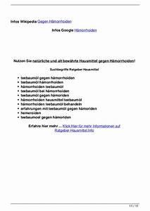 Hausmittel Gegen Kellerasseln : hausmittel gegen h morrhoiden ~ Lizthompson.info Haus und Dekorationen