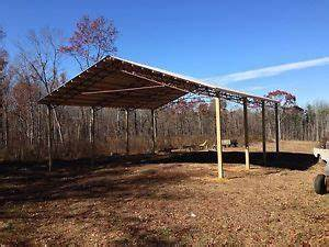 Zekaria pole barn kits for sale michigan for 40 ft metal trusses
