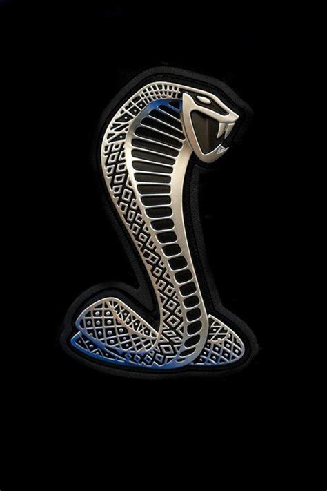 coolest logo  mucle cars  shelbys snake