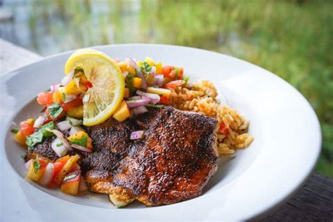 grouper blackened preheat grill skillet heat minutes iron cast inch