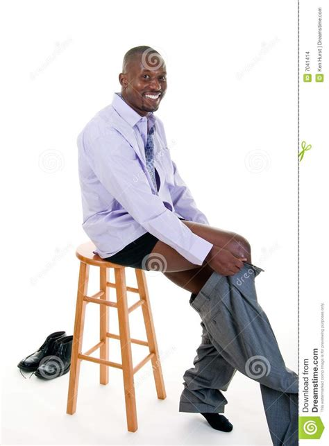 Man Getting Dressed Stock Photo Image Of Dressing