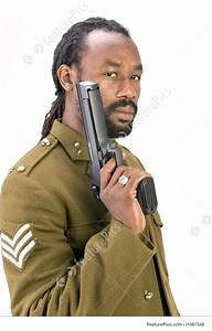 Rasta Army Black Man Stock Picture I1567348 At Featurepics