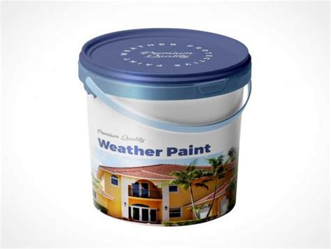 Whether you're a global ad agency or a freelance graphic designer, we have the vector graphics to. Paint Bucket & Carry Handle PSD Mockup - PSD Mockups