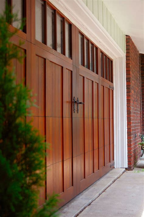 carriage garage doors real wood carriage house garage doors buford carriage