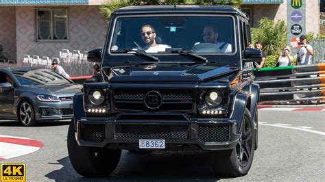 Like its counterpart at the rear, the brabus component at the front replaces the production bumper. BRABUS B63 MERCEDES-BENZ G63 AMG | 2020 4K - YouTube