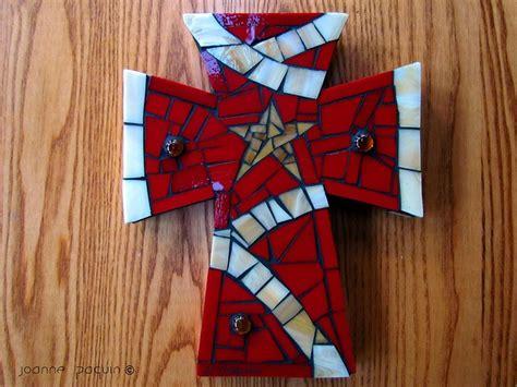 Mosaic Cross By Floweringmoon