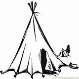 Tent Coloring Nomads Ausmalbilder Namiot Kolorowanki Coloringpages101 Druku Kolorowanka Dzieci Dla sketch template
