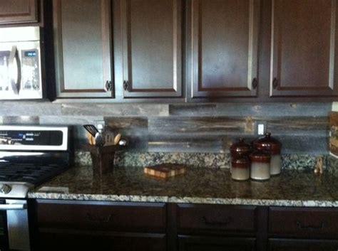 reclaimed wood kitchen backsplash reclaimed weathered wood products back splashes and woods 4532