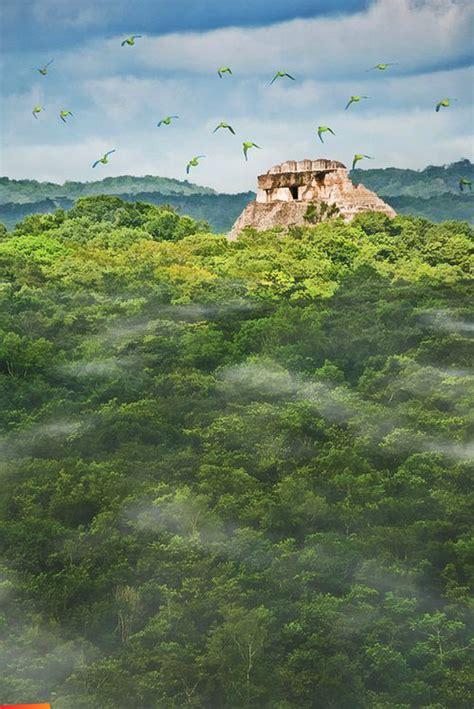The Maya site of Xunantunich in Belize