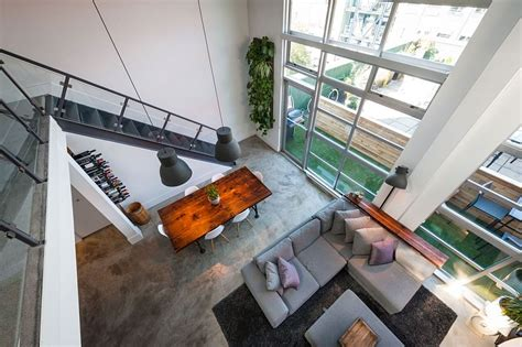 Open Loft Like Family Home Relaxed Feeling by Vintage Modern Loft Design In Vancouver By The Macnabs
