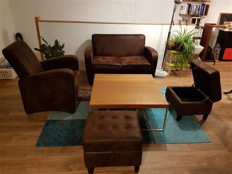 ensemble canapé fauteuil ensemble canapé fauteuil poufs luckyfind
