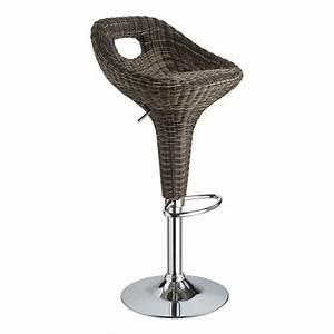 Tabouret En Rotin : lovely chaise de bar cdiscount 11 mobilier maison tabouret de bar en rotin ~ Teatrodelosmanantiales.com Idées de Décoration
