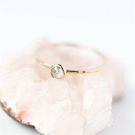 10 minimalist engagement rings for the modern brit co
