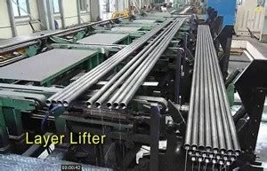 automatic pipe tube bundlestrapping linepipe hundling linetube packing