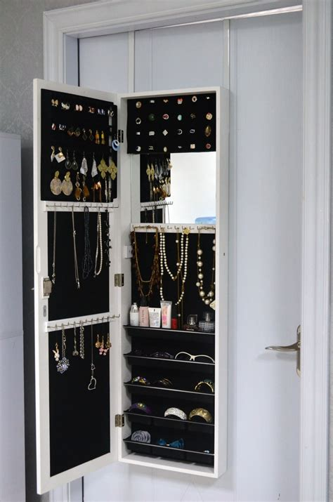 armoire rangement chambre meuble rangement bijoux miroir maison design bahbe com