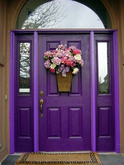 bold  beautiful colored front doors amazing diy